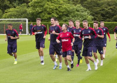 Soccer - Rangers Training - The Rangers Football Centre