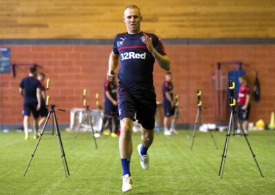 Soccer - Rangers Training - Murray Park