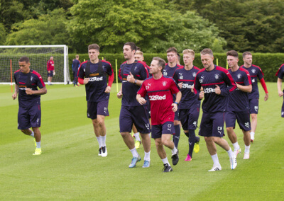 Soccer - Rangers Training - The Rangers Football Centre